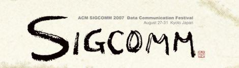 Sigcomm 2007